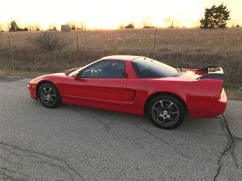 1992 acura nsx low miles clean title manual transmission w tasteful upgrades
