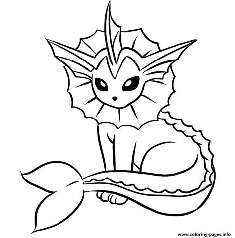 coloring book pages online vaporeon pokemon coloring pages printable