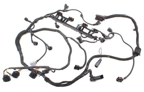 engine wiring harness  vw jetta  awp genuine