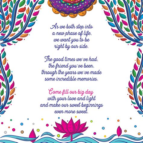 Wedding Card Front Page Design by Alebrije Mexican Indian Wedding Invitation Suite On