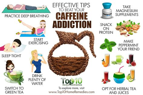 8 Ways To Cut Back On Caffeine by 10 Effective Tips To Beat Your Caffeine Addiction Top 10