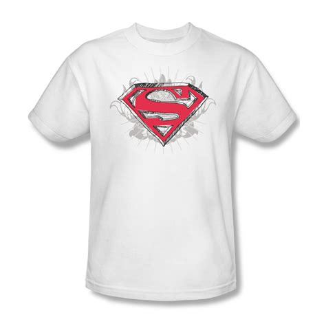 Tshirt Supermen White superman shirt hastily white t shirt superman