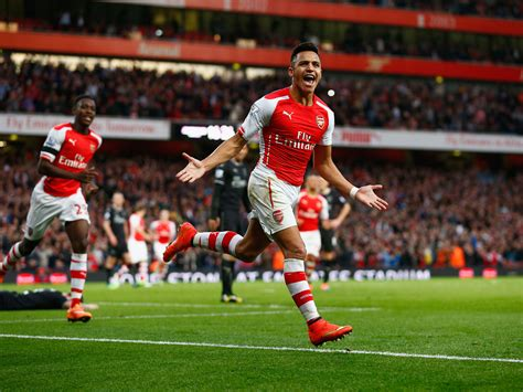 alexis sanchez arsenal arsenal vs burnley match report alexis sanchez shines