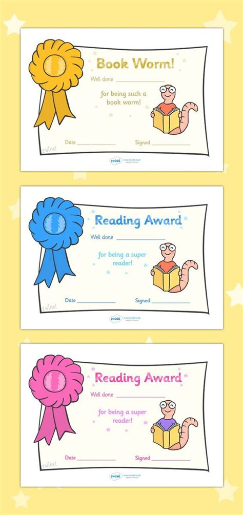 reading certificate template free printable editable reading award certificates