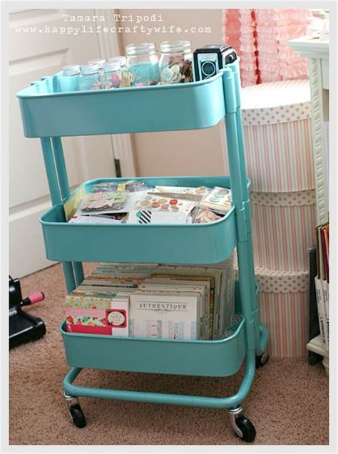 ikea craft cart pin by floundering salmon on note to self pinterest