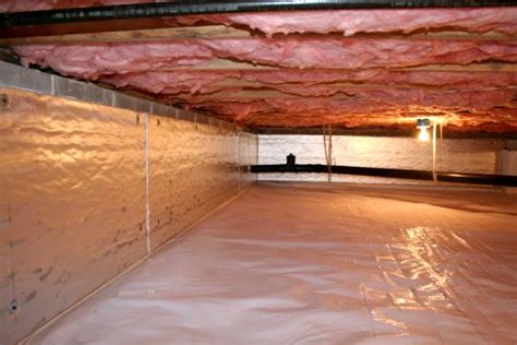 hardwood floors cupping buckling crawl space moisture
