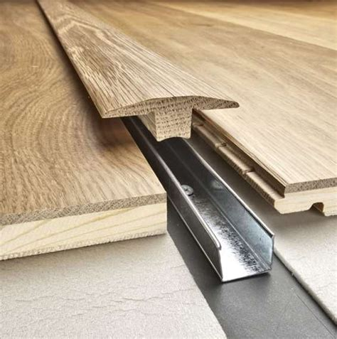 Rubber Floor Trim by Kahrs Solid Wood Threshold Trim 21x58x2400mm