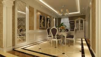 luxury villa dining room wine cabinet 3d house free 3d chinese dining room wine cabinet and partition interior