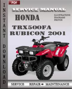 2015 honda foreman trx500 service manual share the