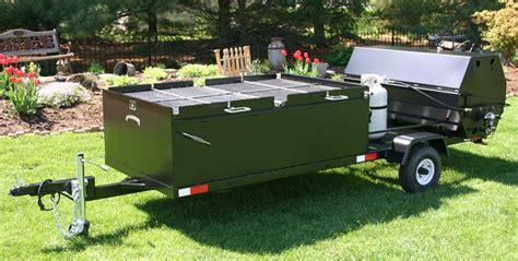 Handmade Bbq - custom bbq trailers meadow creek bbq cookers