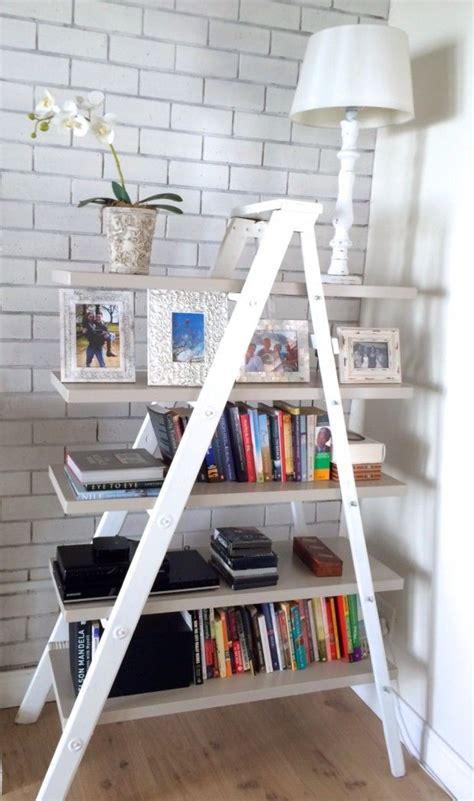 1000 Ideas About Bookshelf Ladder On Pinterest Ladders Ladder Bookcase Diy