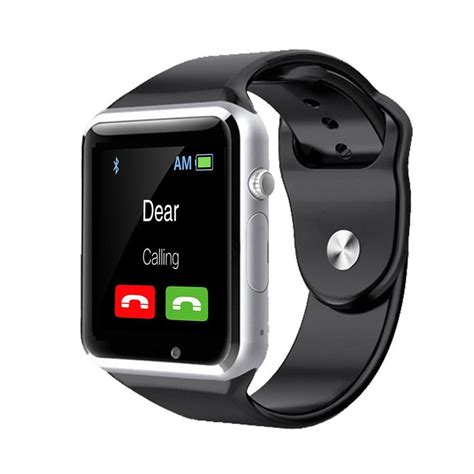 smart for android bluetooth smart sports smartwatch 1 54 display anti lost for android ios phone wrist