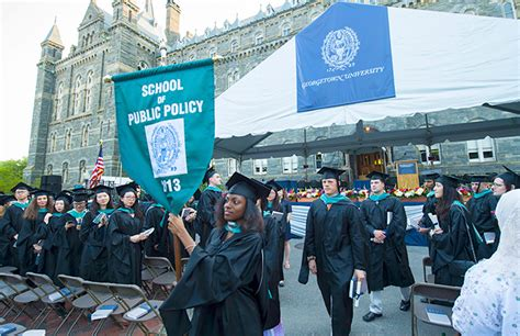 Georgetown Mpp Mba by Georgetown Graduates Thousands Of Students During