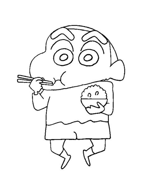 Shin Chan Coloring Pages Coloring Home Shin Chan Colouring Pages