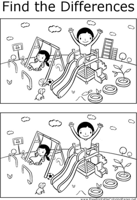 1 picture puzzles for a find the differences book activity books for ages 4 8 volume 1 books free printable coloring pages