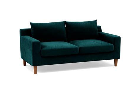 sloan   love seat loveseat sofa leather pillow