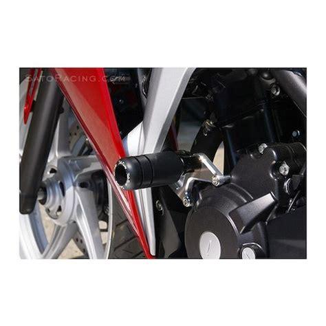 Frame Slider Honda Cbr 250 sato racing frame sliders honda cbr250r 2011 2013 revzilla