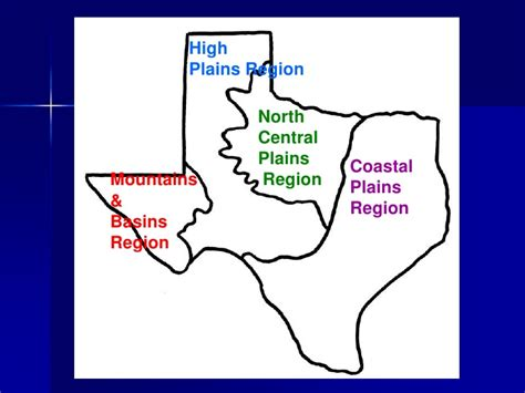 map of regions of texas texas regions