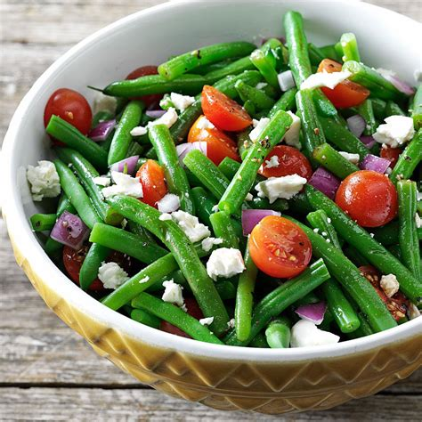 salad recipes balsamic green bean salad recipe taste of home