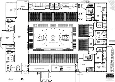 basketball arena floor plan plans submitted for oshkosh basketball arena wluk