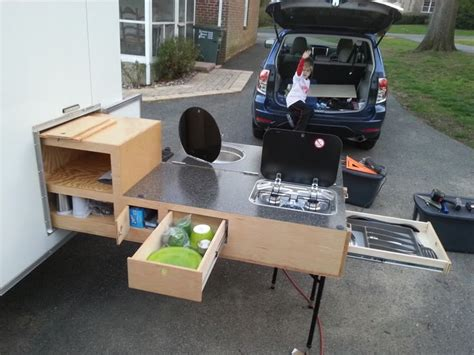 cer trailer kitchen ideas kitchen kit chuck box expedition portal cing