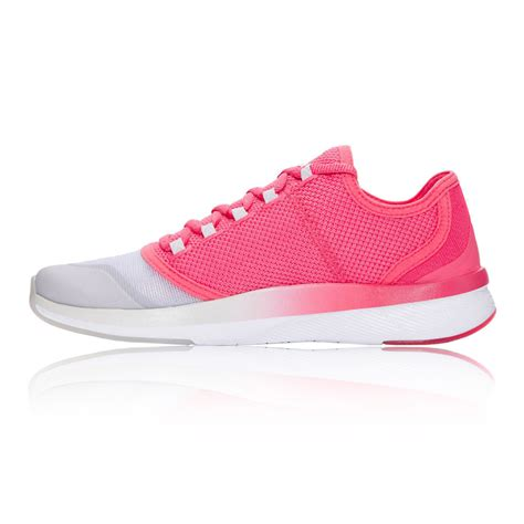 pink sneakers armour charged push womens pink sneakers