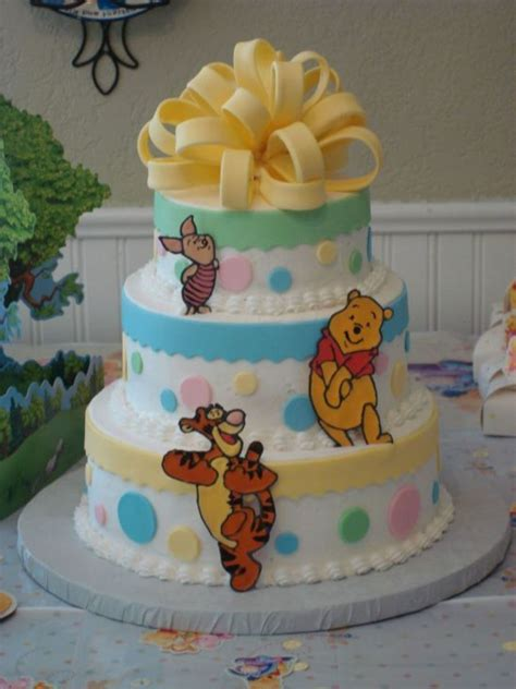 Baby Pooh Baby Shower Decorations by Winnie The Pooh Baby Shower Cakecentral