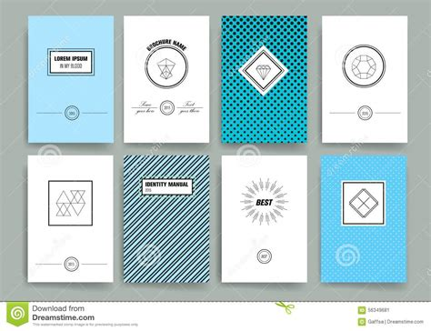 design cards template modern cards design template with sharp line logos stock v
