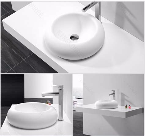 Molded Bathroom Sink And Countertop by Solid Surface Molded Sink Countertop Basin