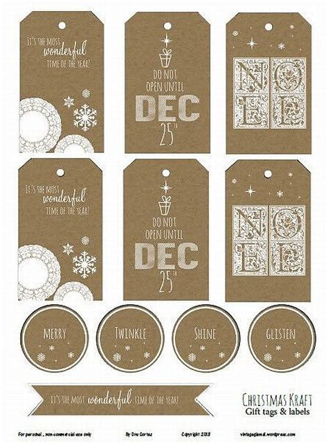 printable retro gift tags vintage christmas gift tags printable free