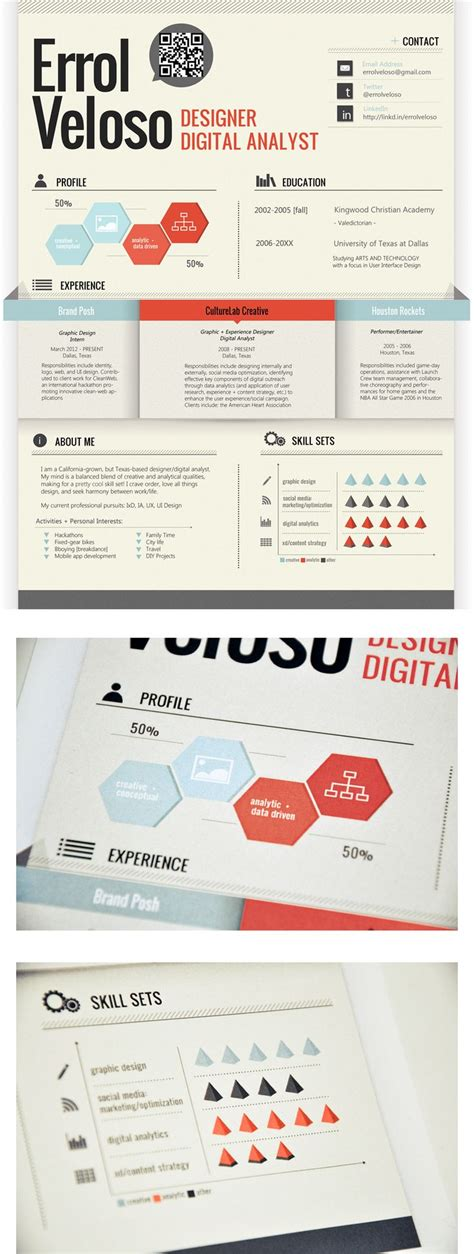 17 best images about infographic resume exles on