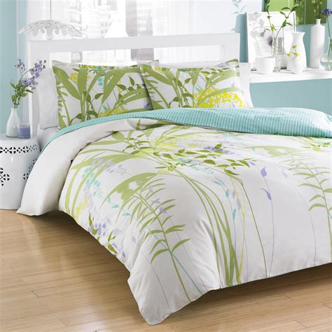 Duvet Comforter by City Mixed Floral Bedding Collection From