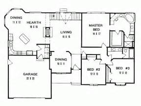 three bedroom ranch floor plans 3 bedroom ranch house plans ranch home plans ideas picture