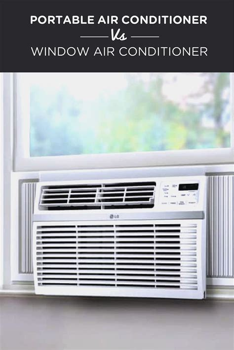Air Conditioners For Small Windows Designs Portable Air Conditioner Vs Window Air Conditioner Airneeds