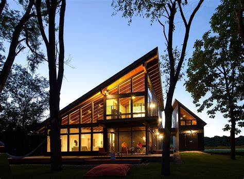 modern lake house plans cool lake home designed to enjoy the views and create art