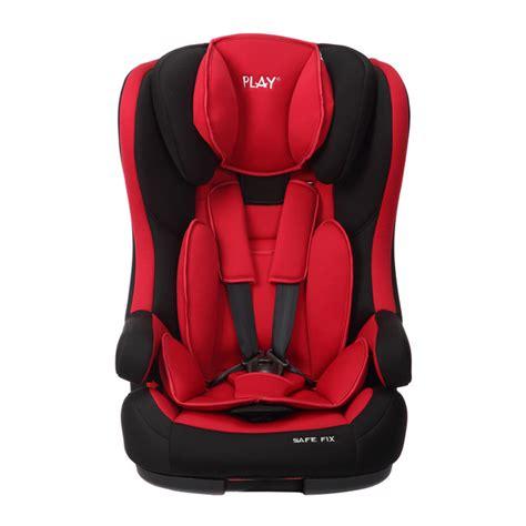 silla auto play silla de auto play safe fix rojo negro grupo 1 2 3
