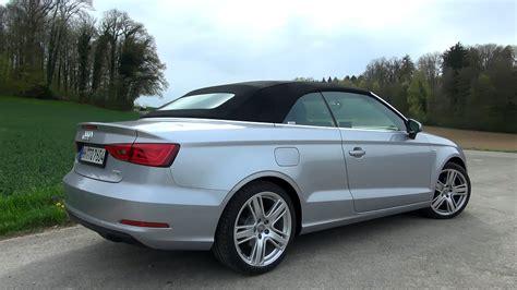 Audi A3 Cabrio Test by 2015 Audi A3 Cabrio 1 4 Tfsi 125 Hp Test Drive Youtube