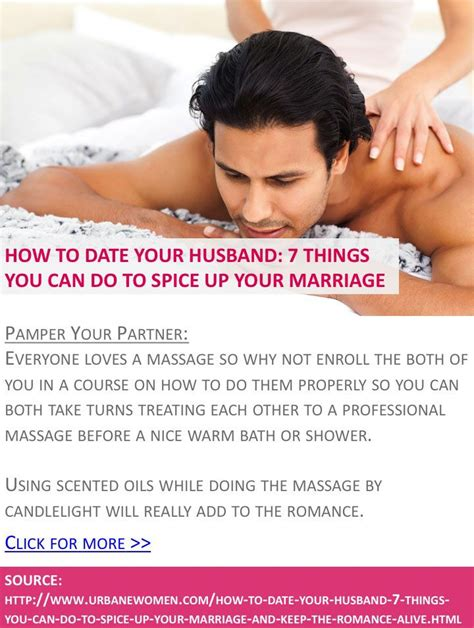8 Tips To Spice Up Your Date by How To Date Your Husband 7 Things You Can Do To Spice Up