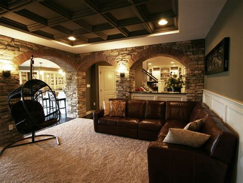 modern basement finished basements modern basement other metro by