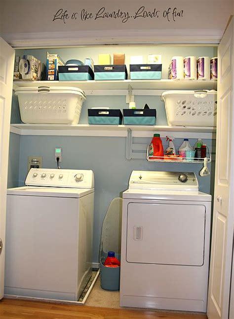 Laundry Closet Organizer by Best 20 Laundry Closet Organization Ideas On