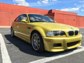 Bmw E46 M3 For Sale Sub 40k Yellow E46 Bmw M3 For Sale