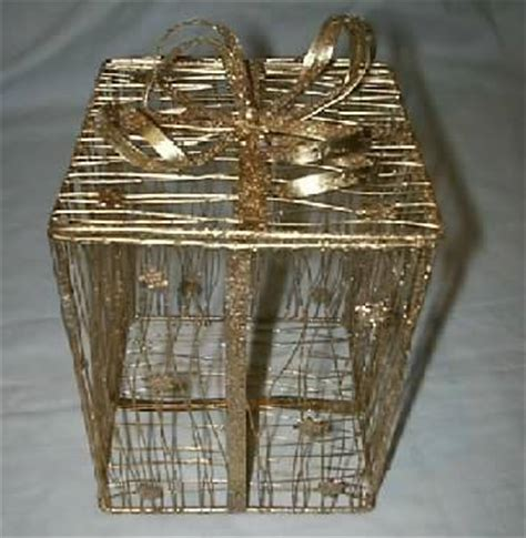 how to make a wire christmas gift box on pinterest metal wire gift box with chicken wire and in gold or silver id 1241820 product details