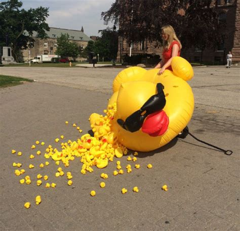 rubber sts toronto taxpayers federation protests rubber duck calls it