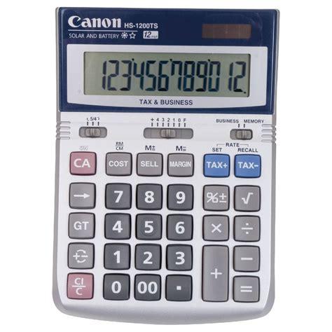 calculator hs code canon 12 digit desktop calculator hs 1200ts officeworks