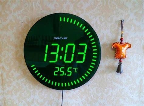 wall clock digital digital wall clock battery operated john robinson house