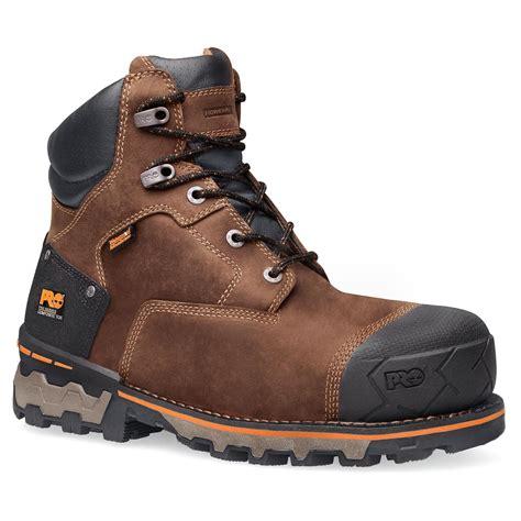 timberland waterproof work boots timberland pro boondock ct eh waterproof work boot 92615214