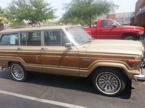 Jeep Grand 1985 Purchase Used 1985 Jeep Grand 73 991 Original