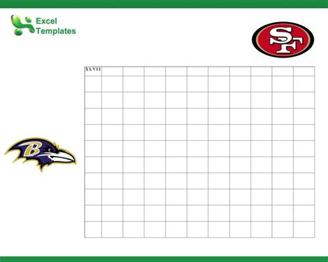 football betting pool template bowl square sheet new calendar template site