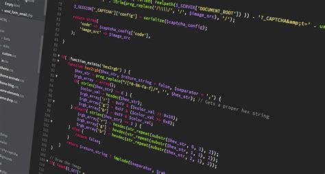 game design vs programming web developer coding on screen wallpaper and background