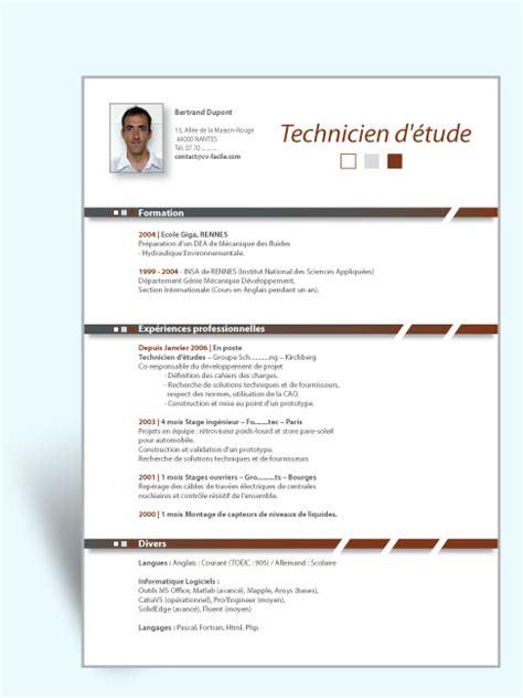 Exemple De Lettre De Motivation Technicien Comptable Modele Cv Technicien Comptable Document